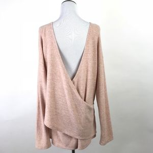 J.Crew Reversible V-Back Tunic Sweater #1039